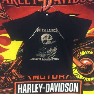 Vintage Metallica Death Magnetic World Tour Shirt